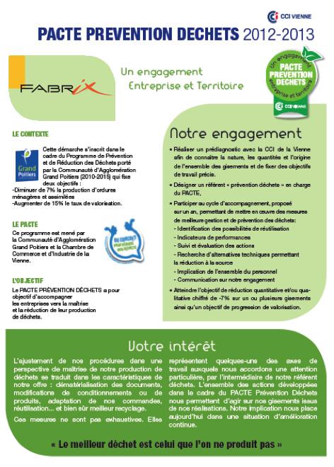 pacte prevention fabrix